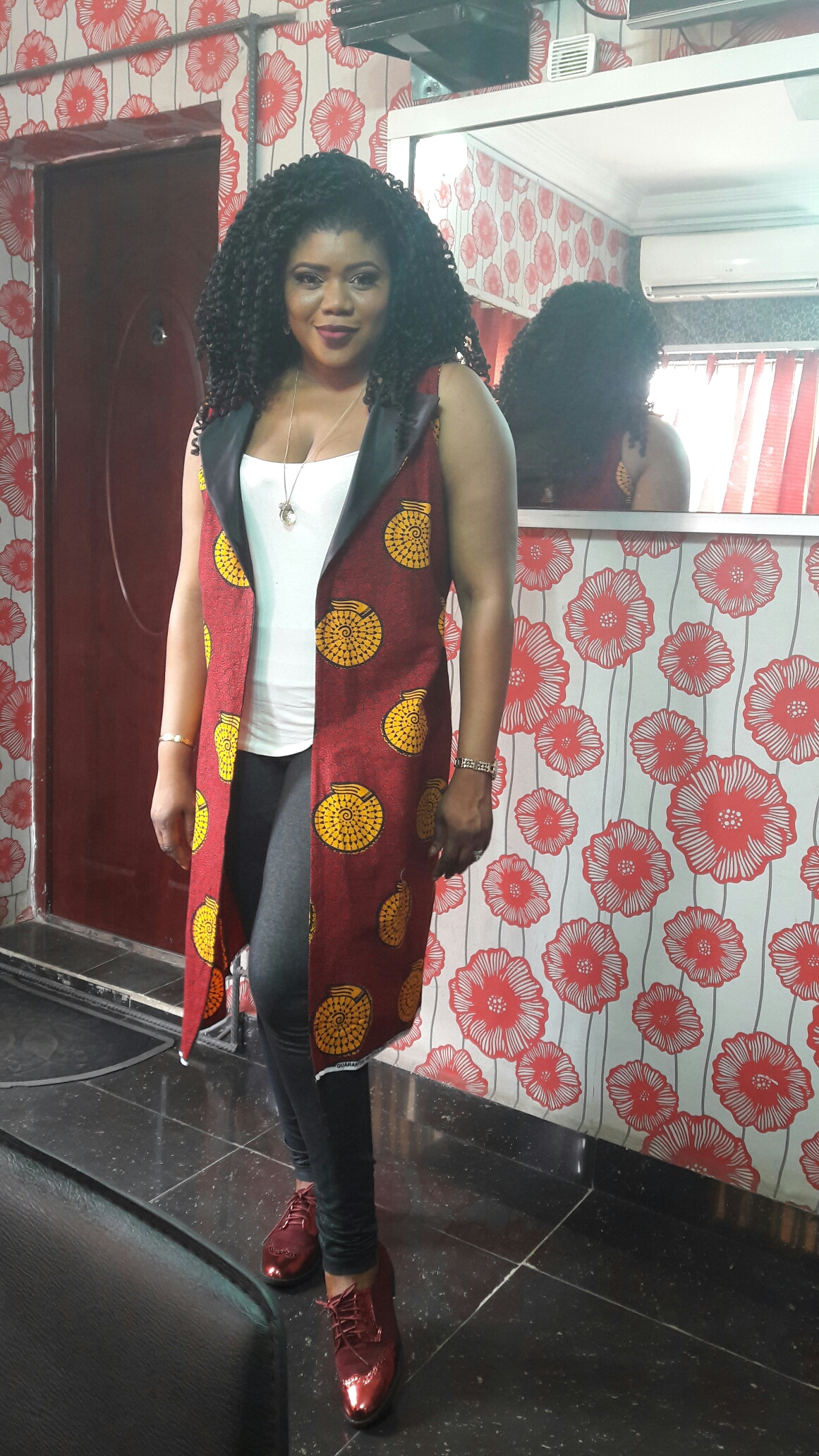 How to make a loose Ankara Jacket. Follow the easy steps in this tutorial