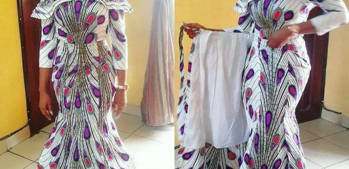 Wrapped Pieced Skirt