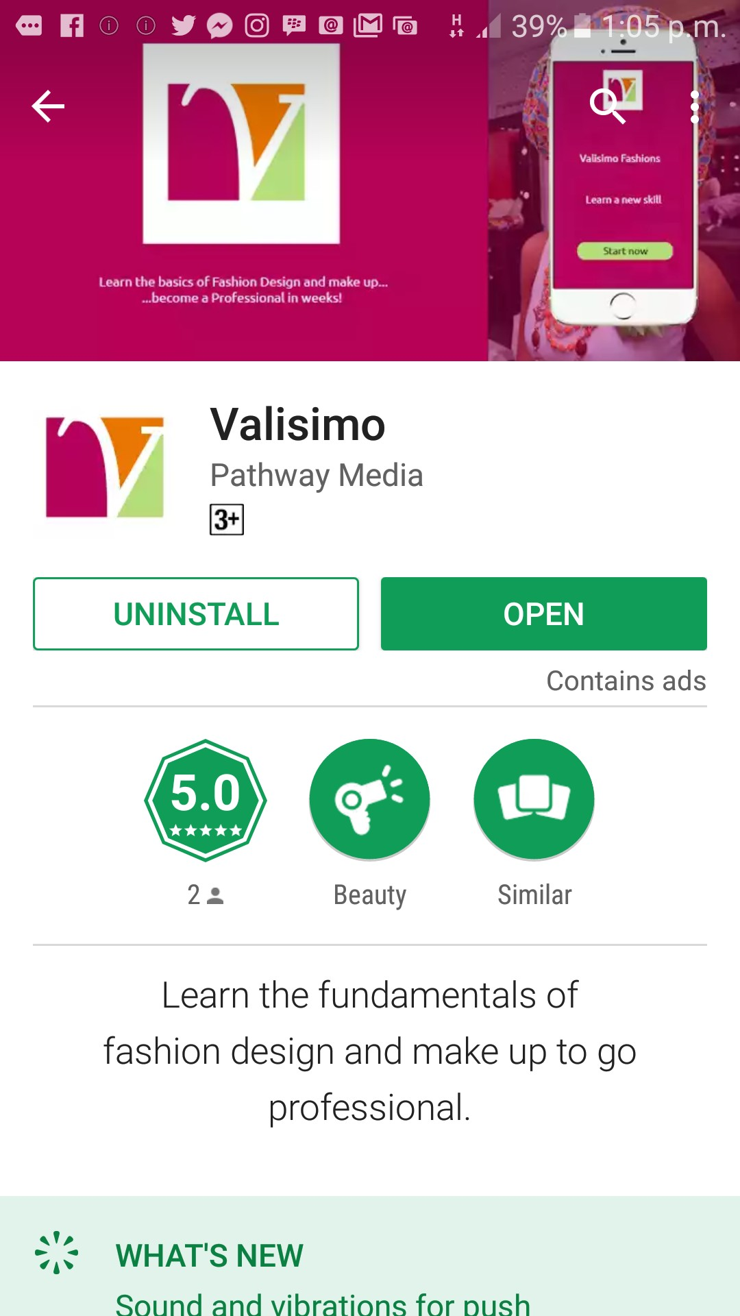 Happy April 1. Valisimo Fashions launches the Valisimo sewing tutorial app!