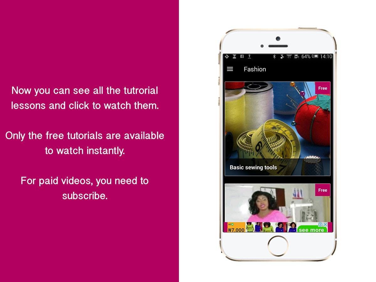 How To Subscribe To The Valisimo Sewing Tutorial Videos