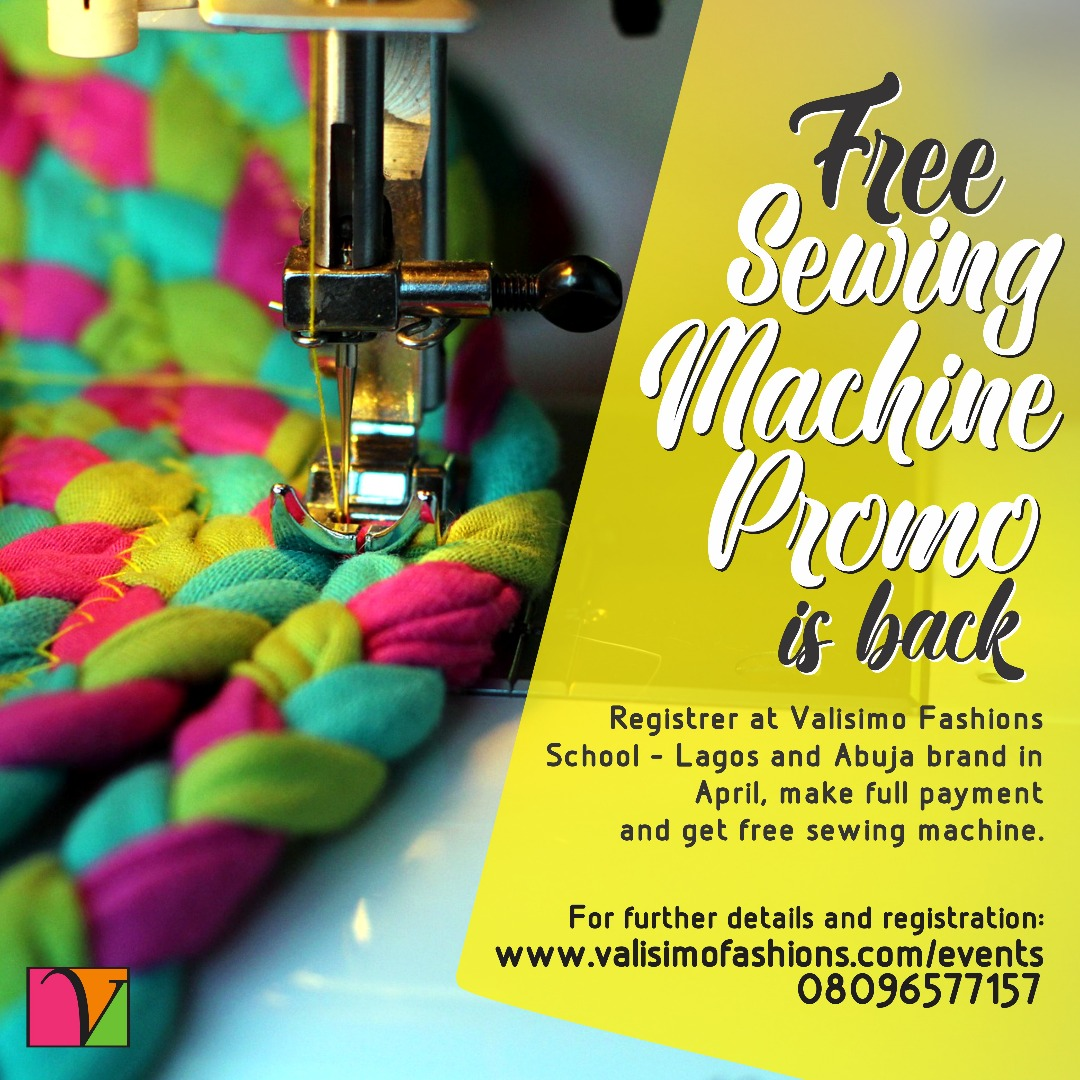 Free sewing machine  promo is back!!!