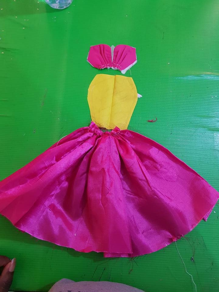 Gathers dress (Credits to Facebook post)