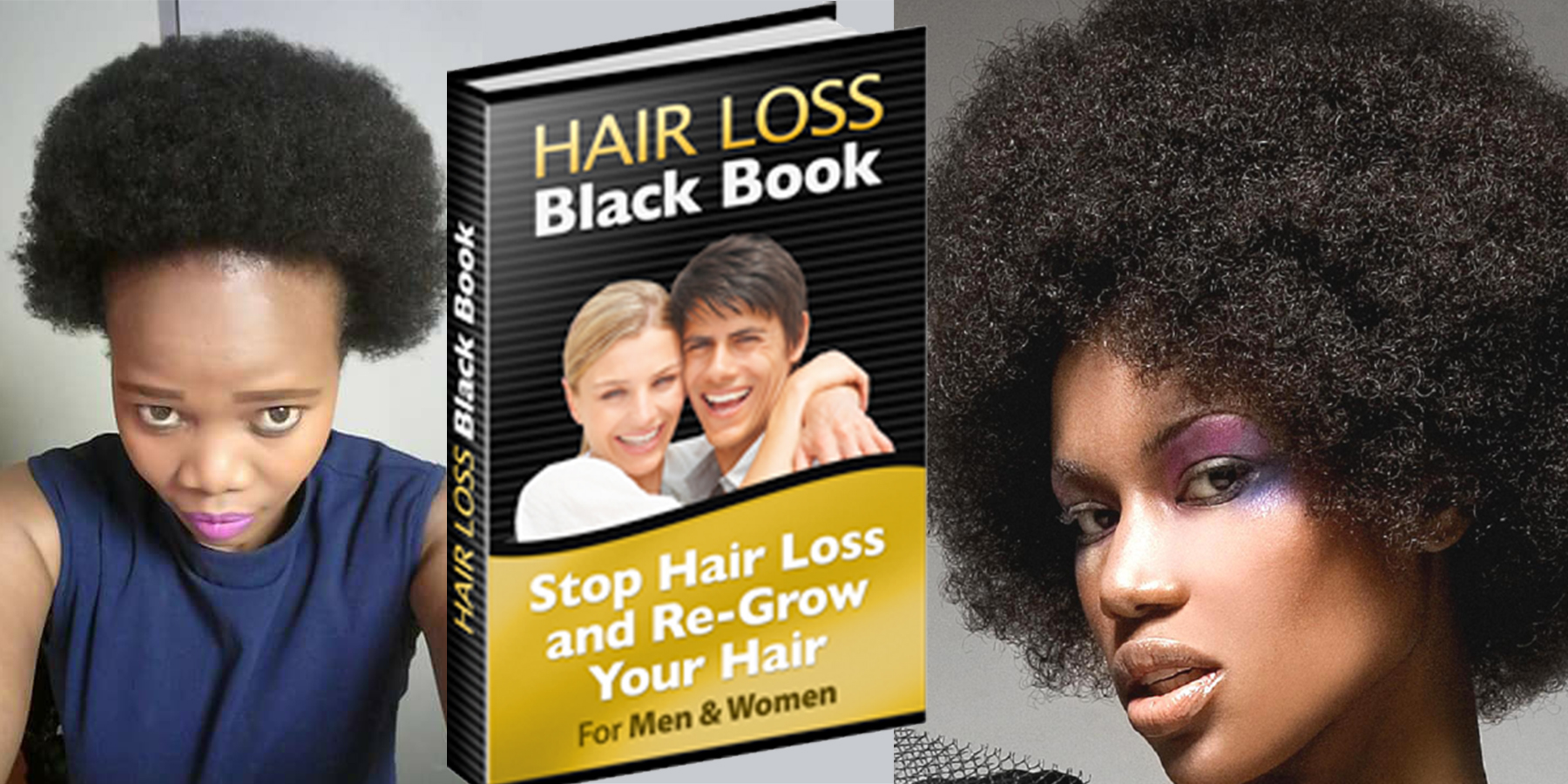 HAIR LOSS NO MORE: Get this Longer thicker hair solution